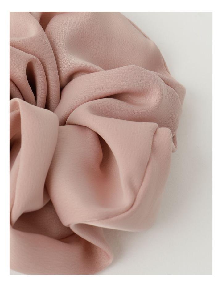 Oversized Blush Scrunchie image 2