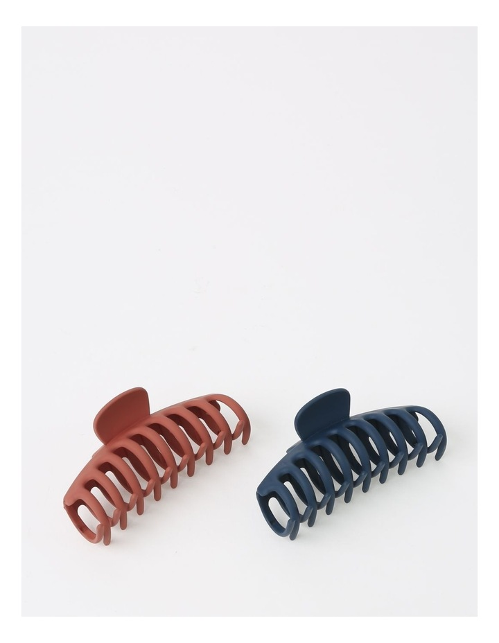 2Pack Matte Claw Clip image 2