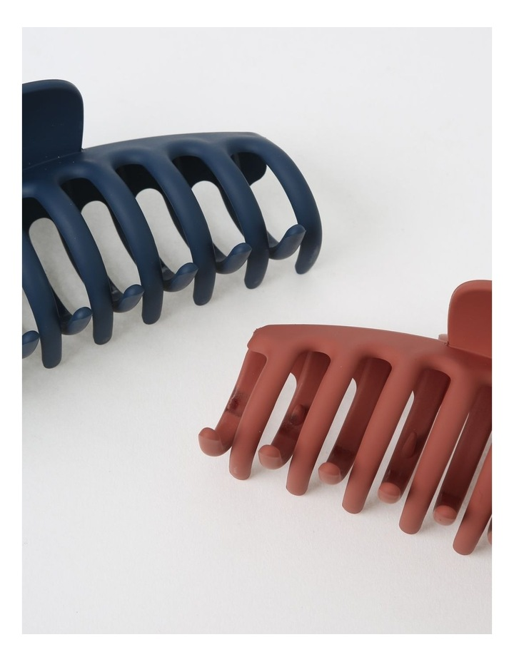 2Pack Matte Claw Clip image 3