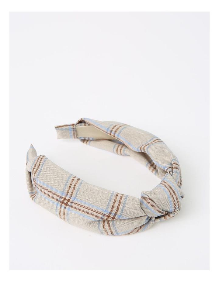 Top-Knot Beige Headband image 2