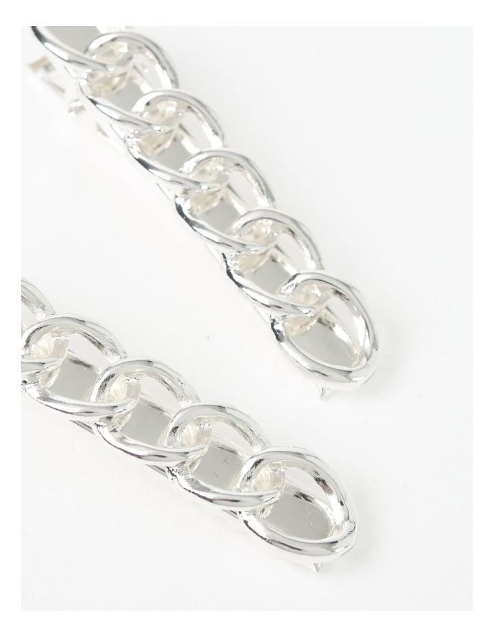 Silver Chain Hair Clip image 3