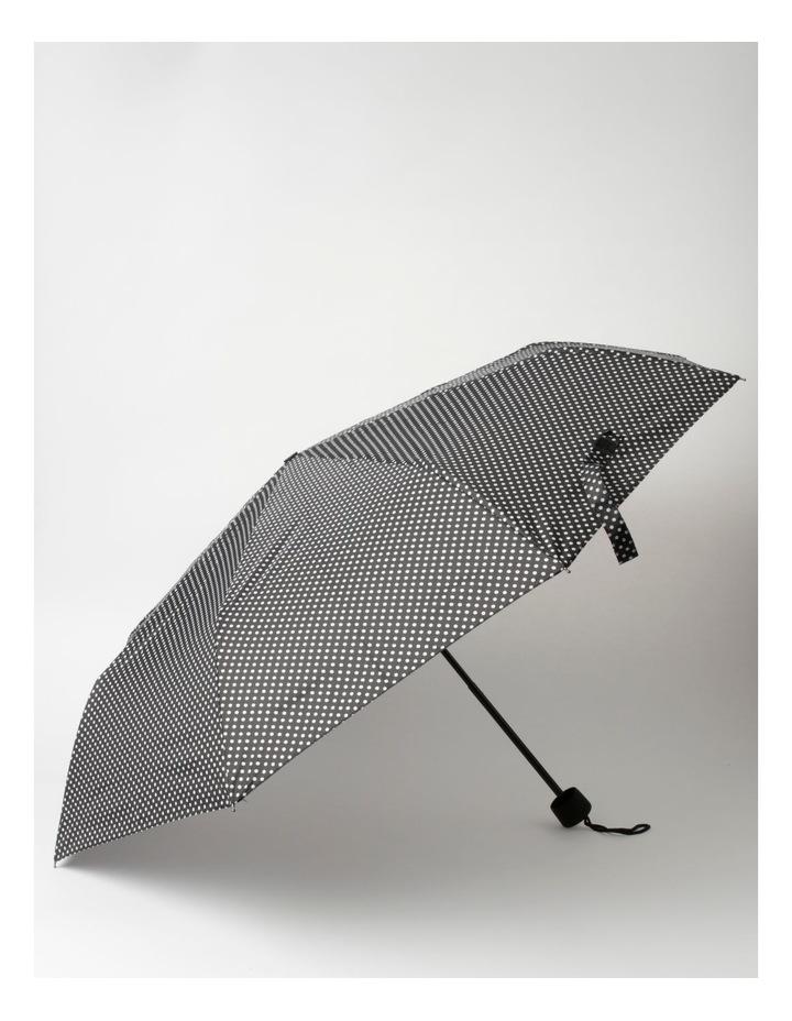 Black Spot Foldable Umbrella image 1