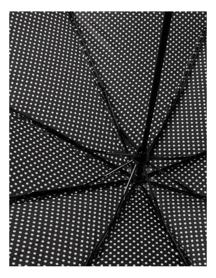 Black Spot Foldable Umbrella image 3