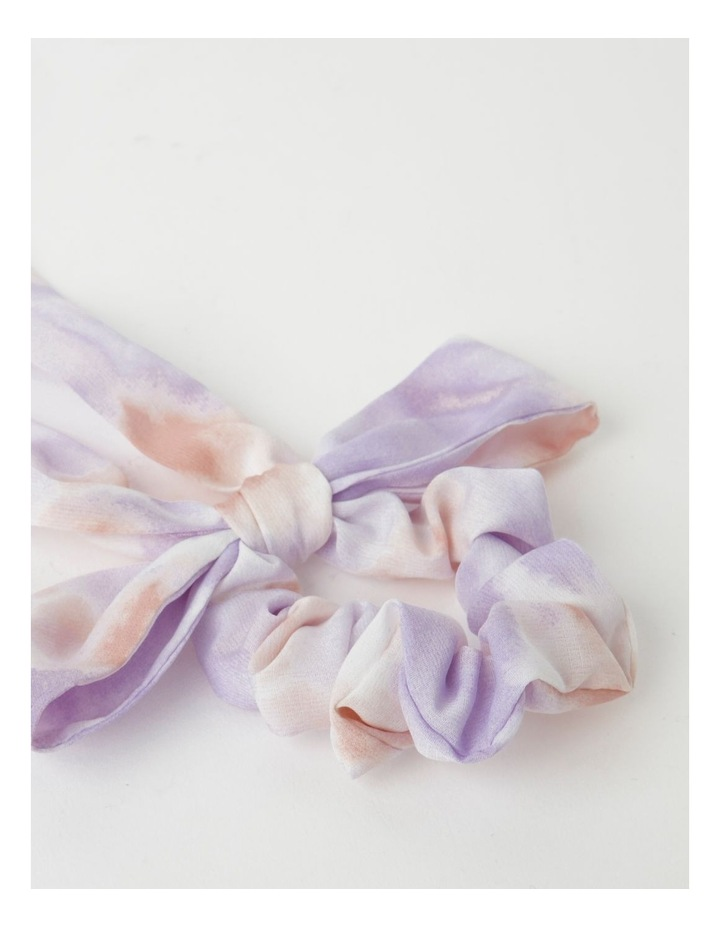 Bow With Tie Scrunchie image 2