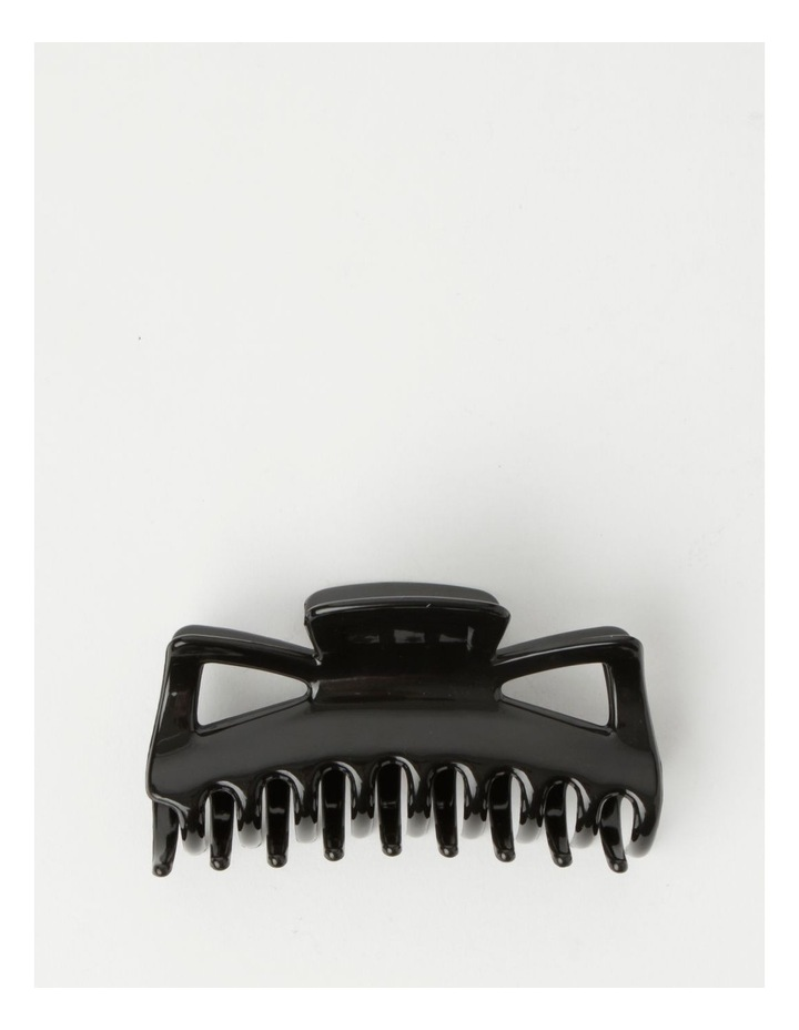 Large Traditional Black Claw Clip image 1