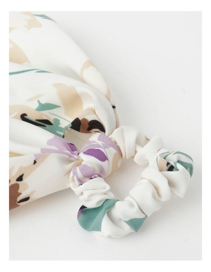 Printed Long Tie Scrunchie image 2