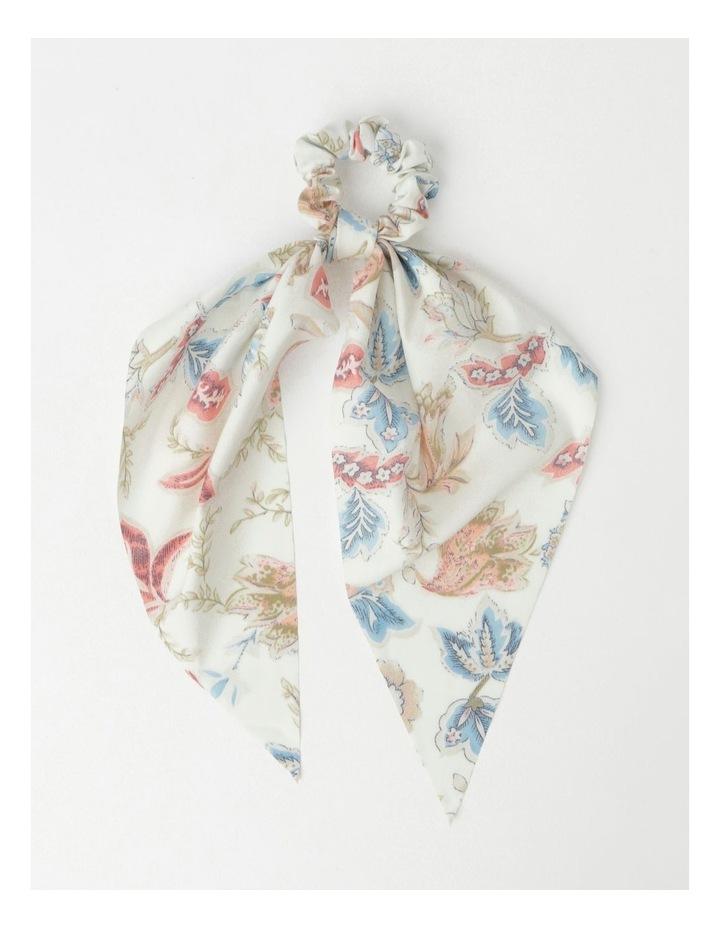 Printed Long Tie Scrunchie image 1