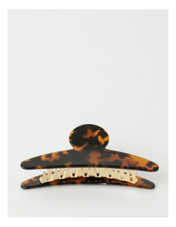 Large Resin Tortoise Claw Clip image 1