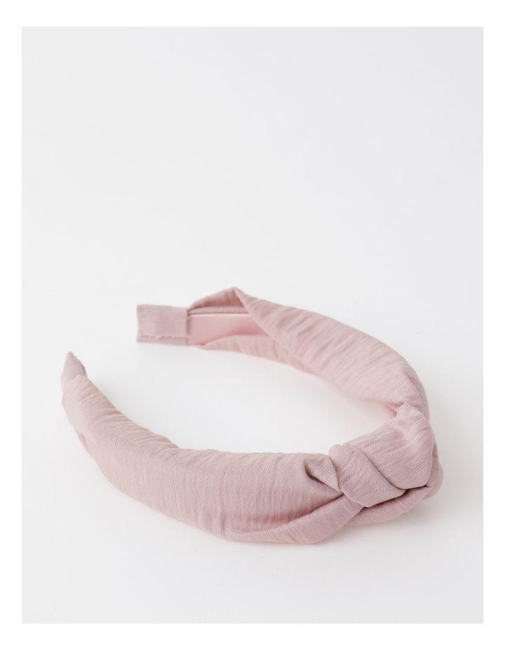 Knot Turban Blush Headband image 1