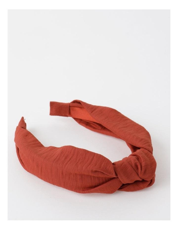 Knot Turban Rust Headband image 1