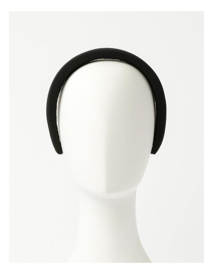 2 Pack Black Matching Headband/Hair Tie Set image 2