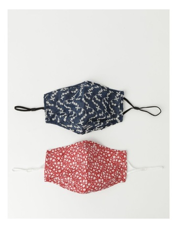Navy/Red colour