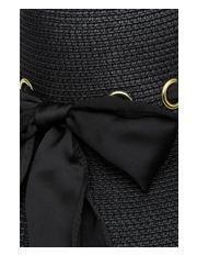 Basque - Wide Brim Hat with Scarf Trim