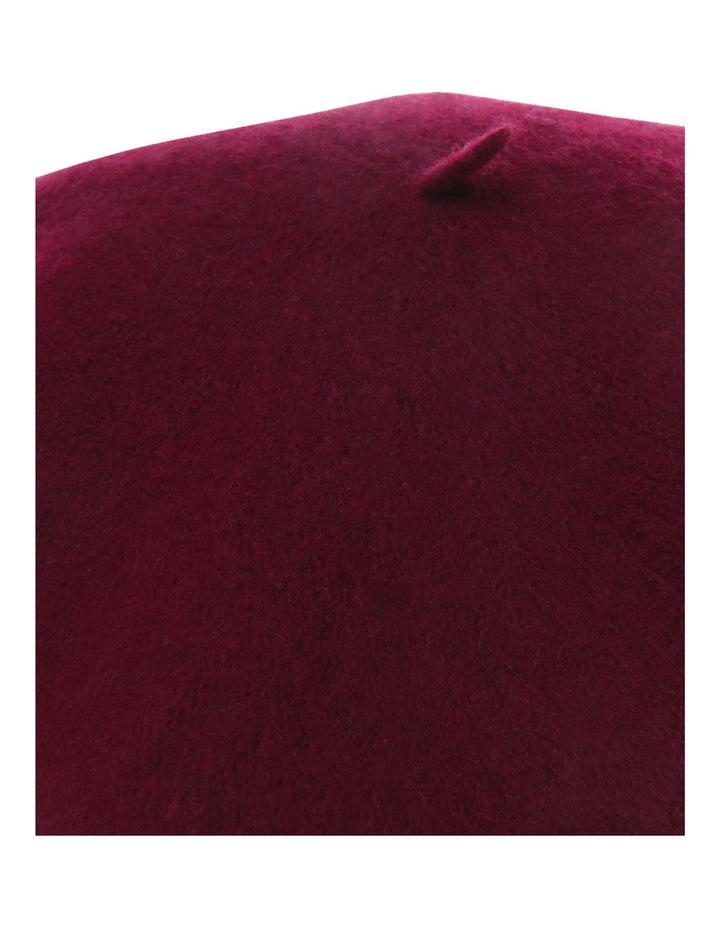 Solid Wool Blend Beret image 4