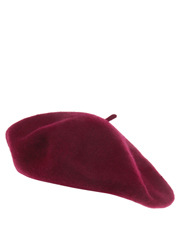 Basque - Solid Wool Blend Beret