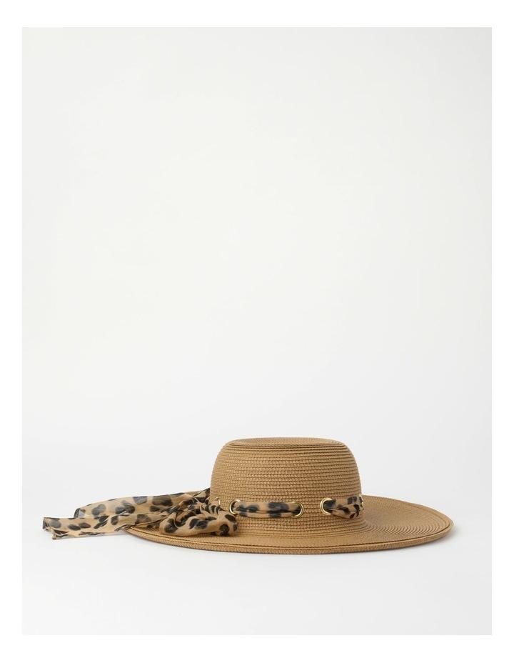 Bow Natural Summer Hat image 2