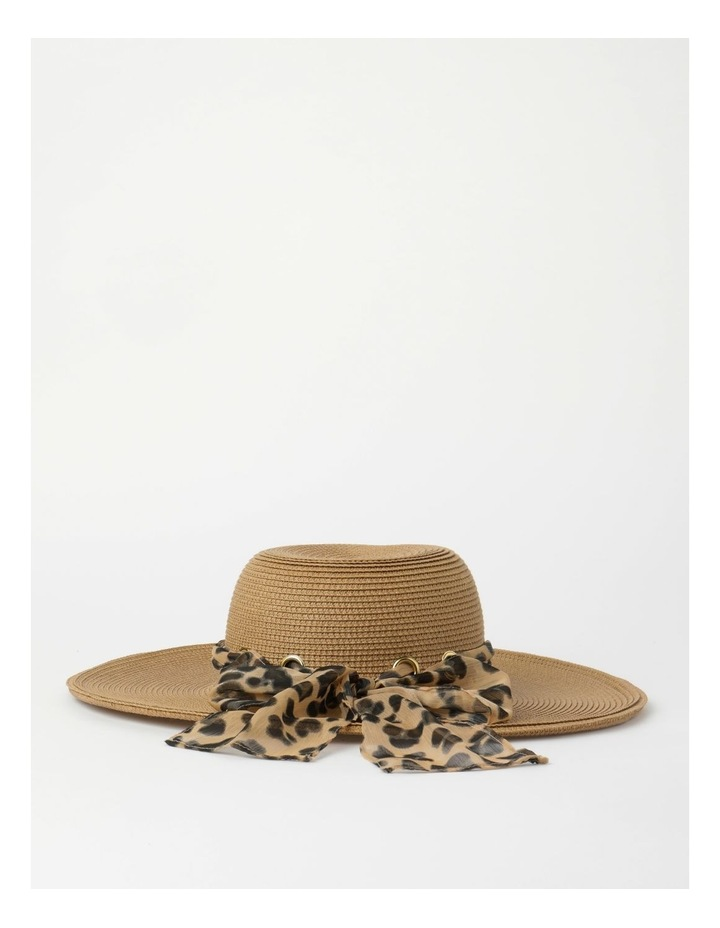 Bow Natural Summer Hat image 3