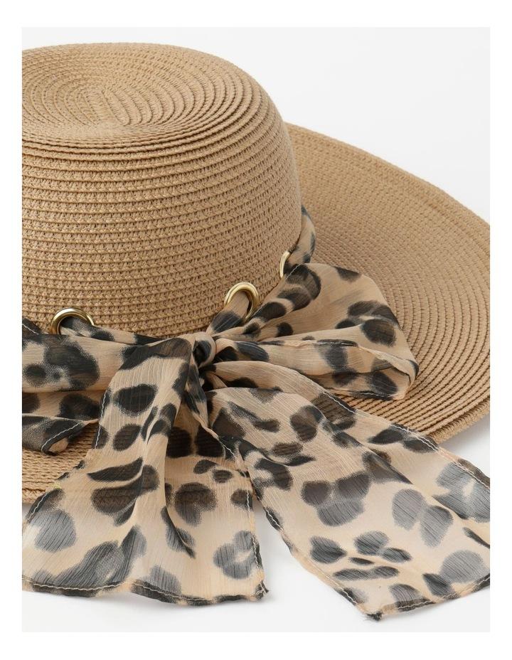 Bow Natural Summer Hat image 4