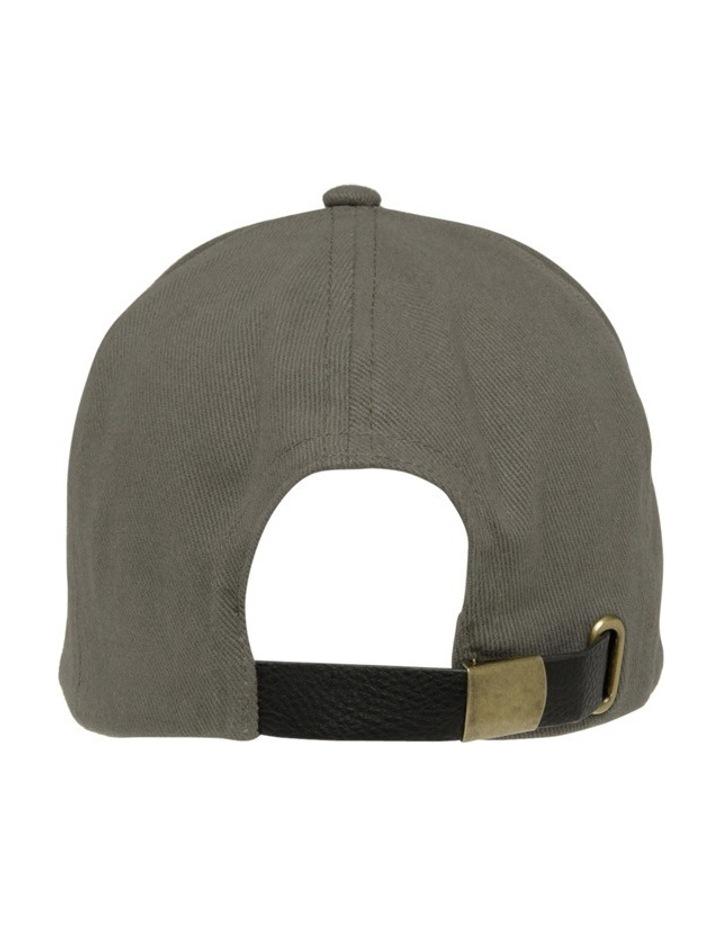 Eyelet Cap Black Summer Hats image 3