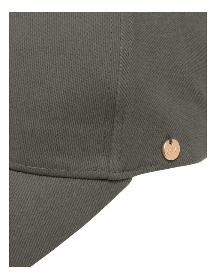 Eyelet Cap Black Summer Hats image 4