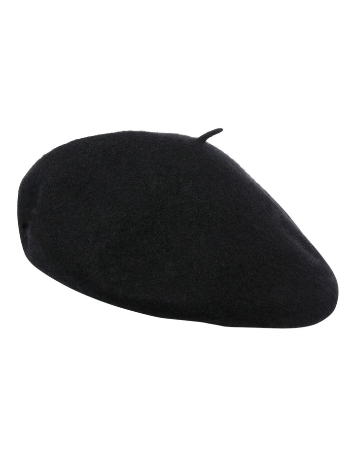 Beret With Pu Band HS116 image 1