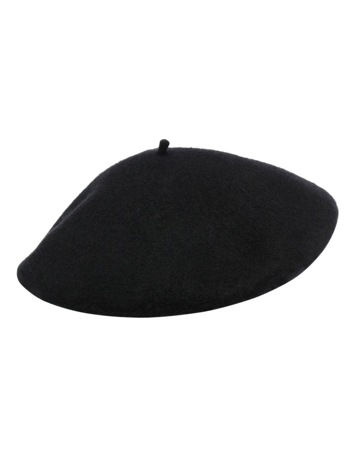 Beret With Pu Band HS116 image 2