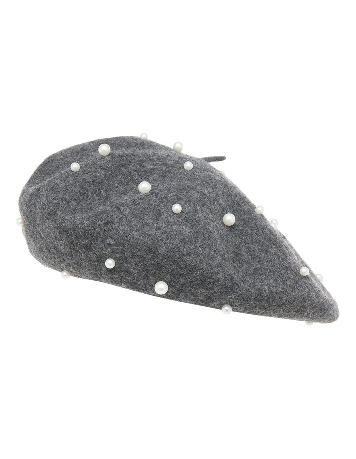 Beret With Pearls S-602-2 image 1