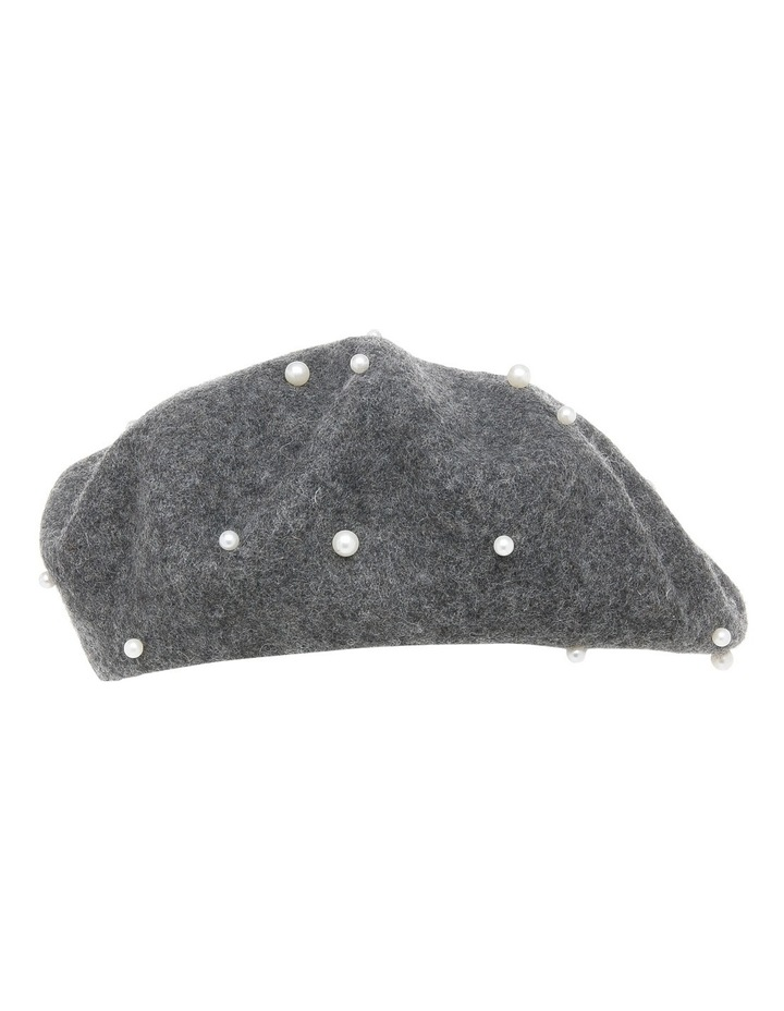 Beret With Pearls S-602-2 image 2
