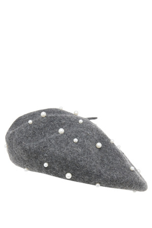 Piper - Beret With Pearls S-602-2