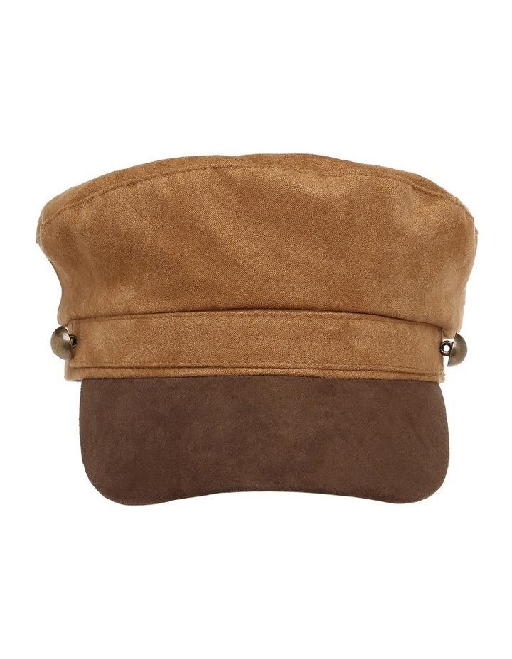 Two Tone Baker Boy Hat image 1