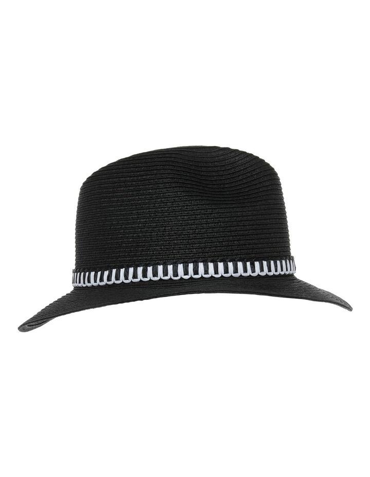 Basic Mono Trim Hat image 2
