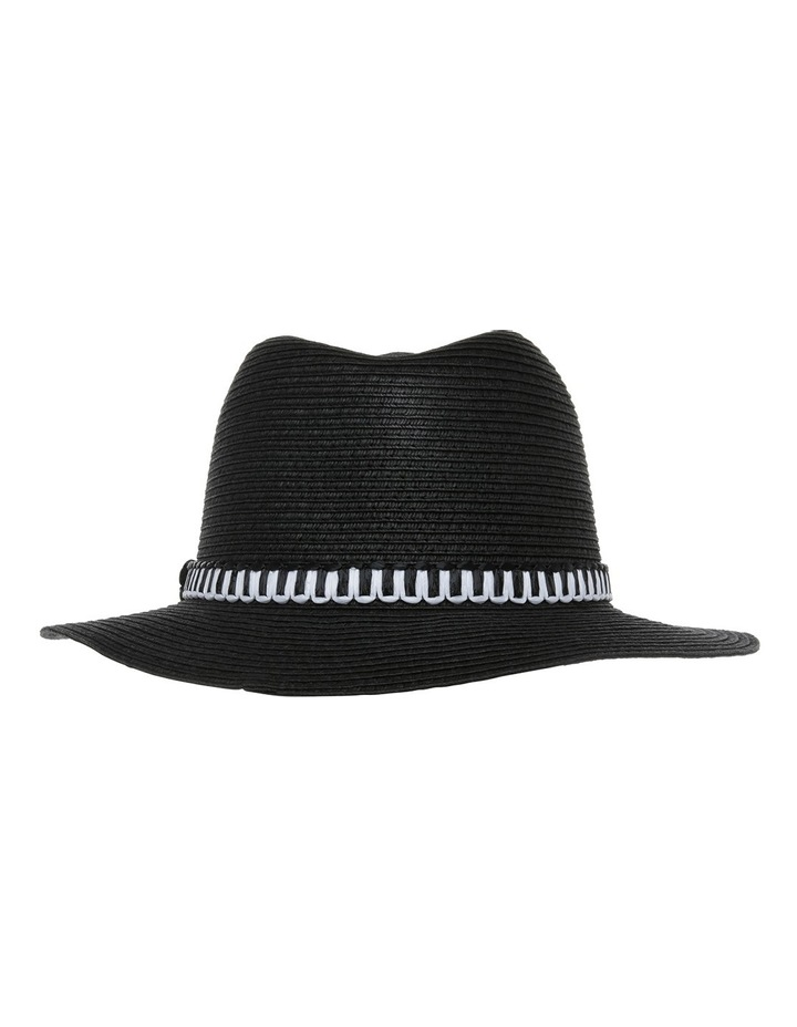 Basic Mono Trim Hat image 3