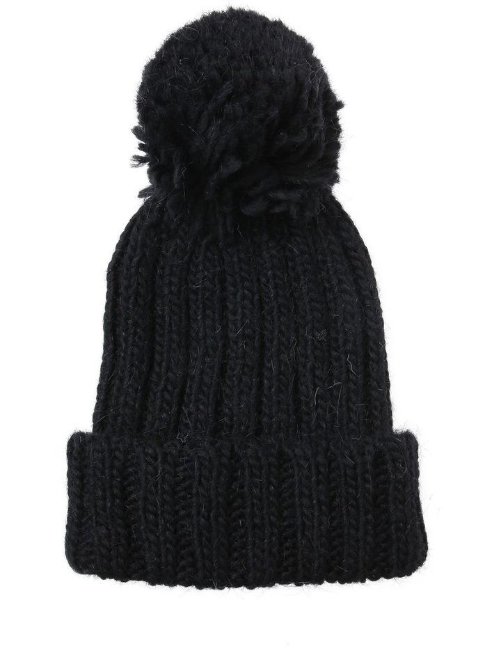 Pom Pom Ribbed  Winter Hats image 1