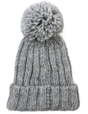 cb53f6c257596c Innovare Made in ItalyPom Pom Ribbed Winter Hats. Innovare Made in Italy  Pom Pom Ribbed Winter Hats