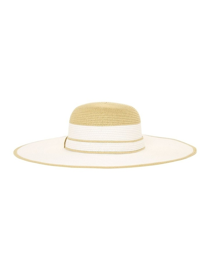 Floppy Hat With Contrast Crown Summer Hat image 1