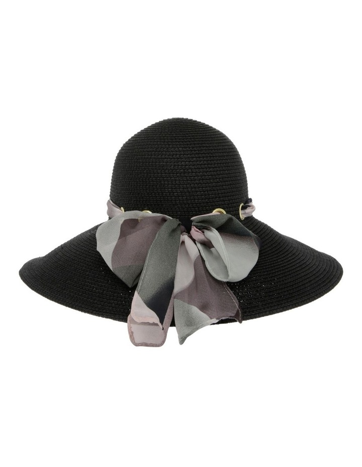 Summer Hat with Bow Detail image 3