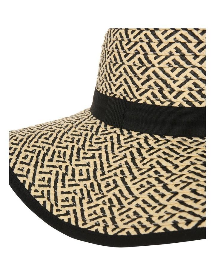 Contrast Weave Hat image 3