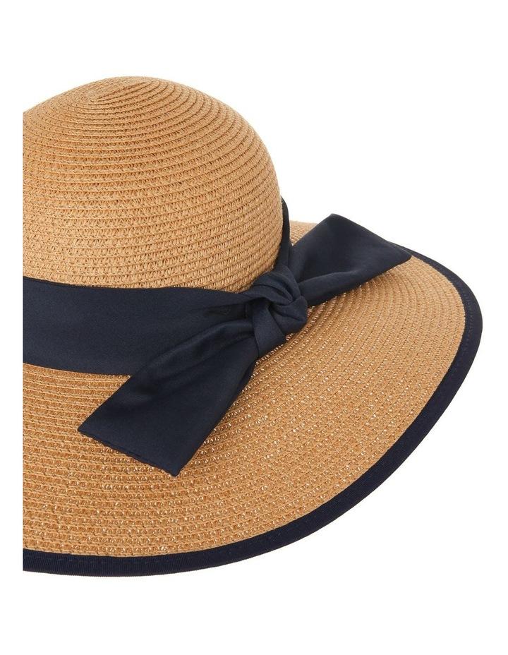 Contrast Trim Wide Brim Summer Hats image 4