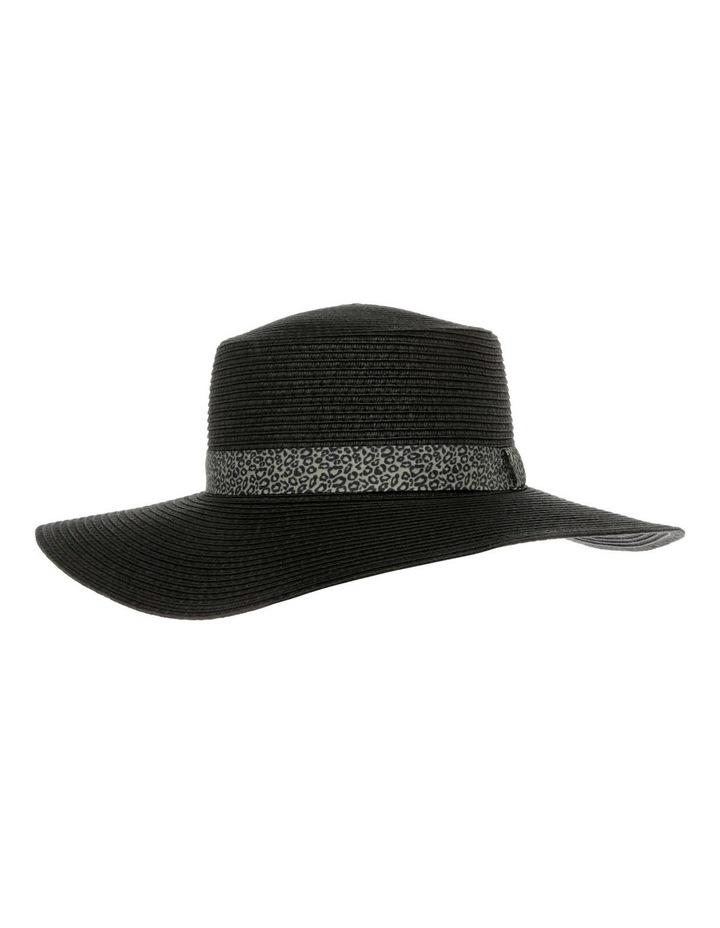 Animal Trim Wide Brim Boater Summer Hat image 1