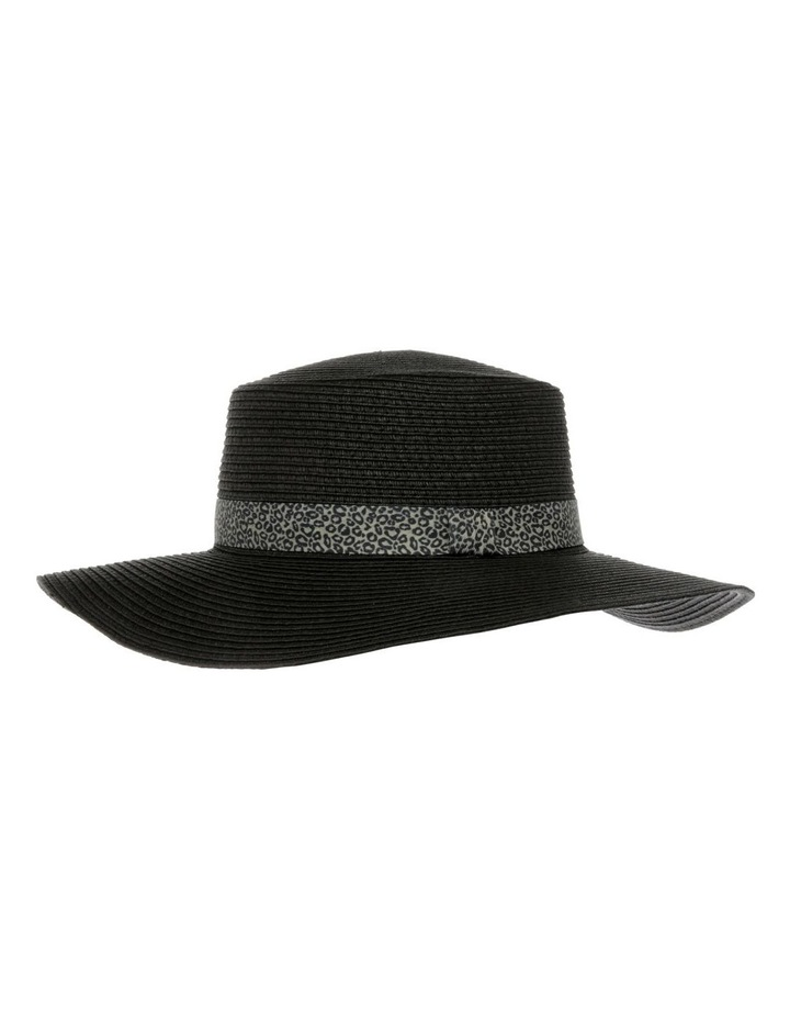 Animal Trim Wide Brim Boater Summer Hat image 2