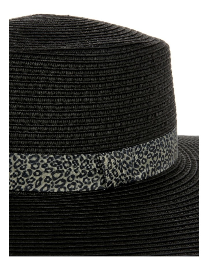 Animal Trim Wide Brim Boater Summer Hat image 4