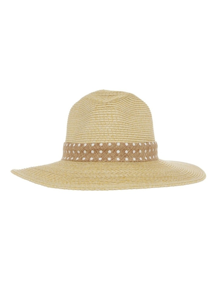 Spot Trim Fedora Summer Hats image 1