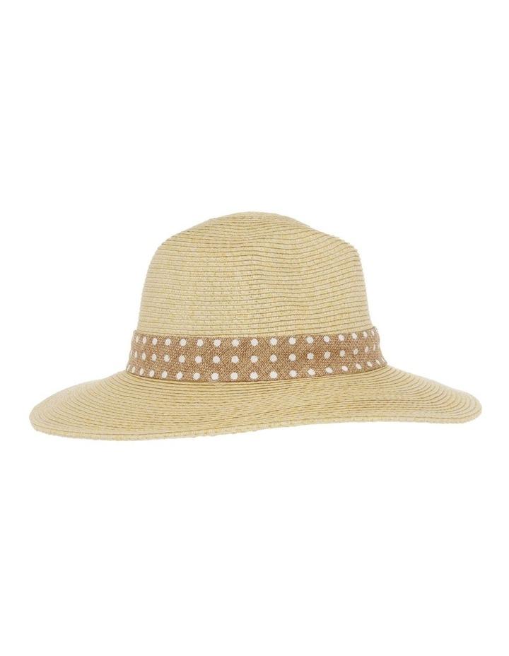 Spot Trim Fedora Summer Hats image 2