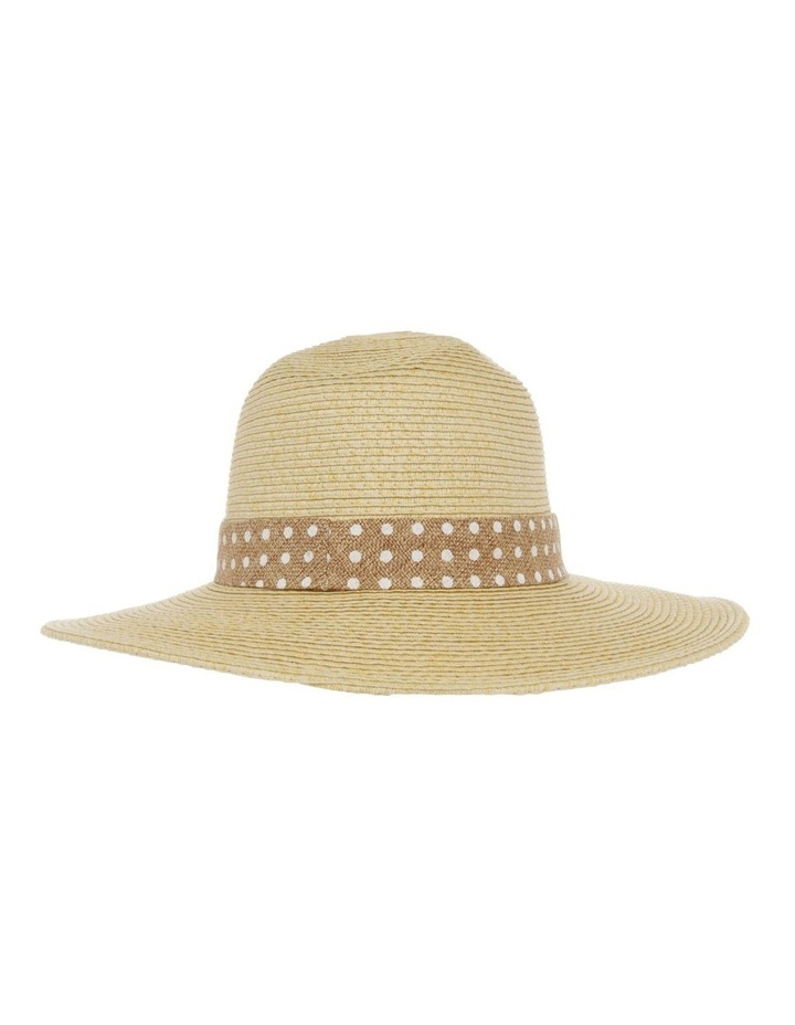 Spot Trim Fedora Summer Hats image 3