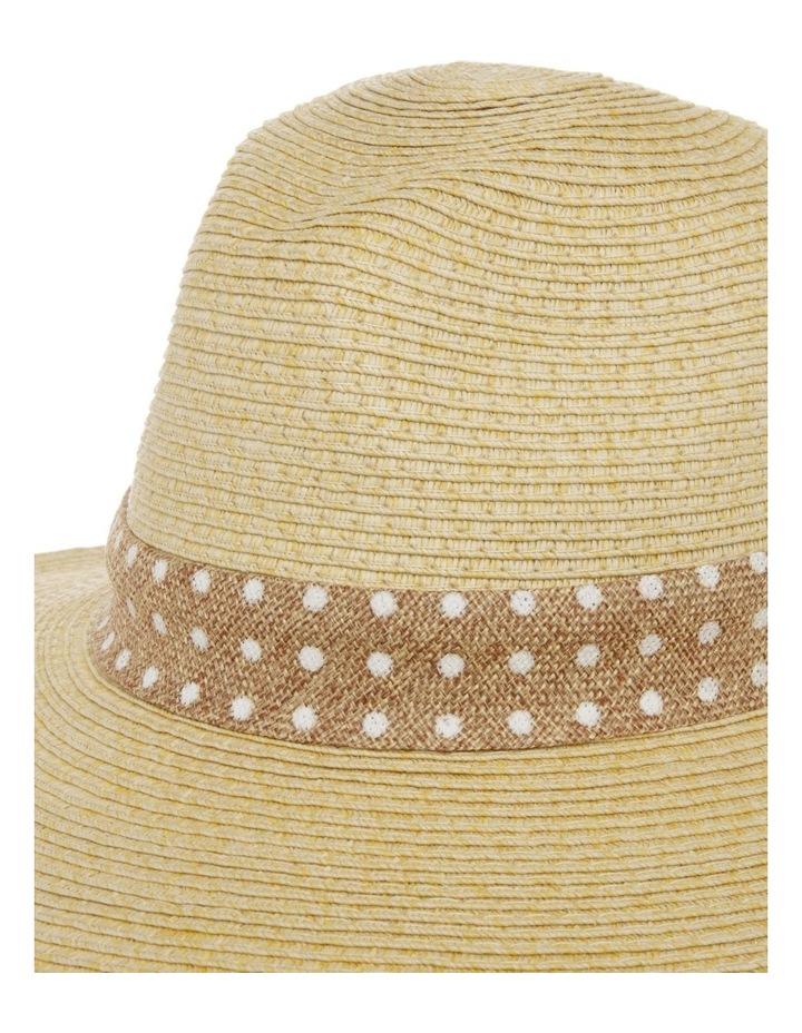 Spot Trim Fedora Summer Hats image 4