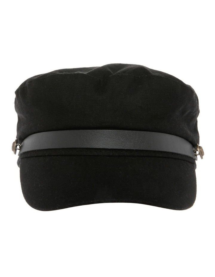 Baker Boy Summer Hat - Black image 1