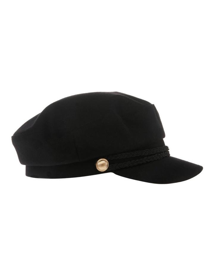 Bakerboy Cap with Plait Detail image 2