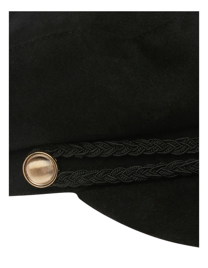 Bakerboy Cap with Plait Detail image 4