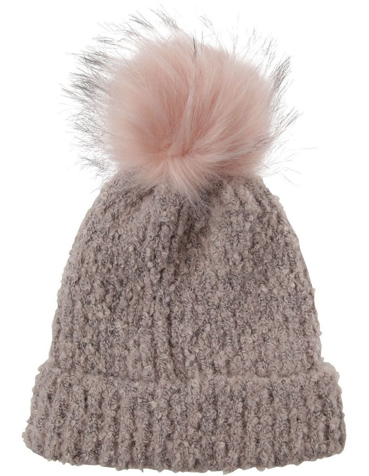 Turn Up Boucle Pom Winter Hats image 1