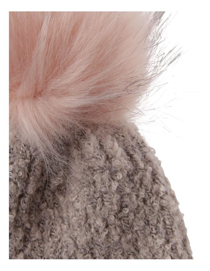 Turn Up Boucle Pom Winter Hats image 2
